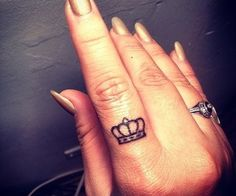 A Crown for the Queen tattoo...love