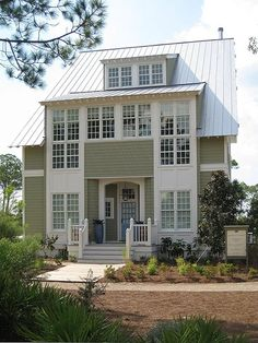 My dream home plans and ideas on pinterest country for Watercolor florida house plans