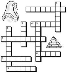 Joseph in Egypt Crossword Puzzle Page