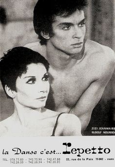 Zizi Jeanmaire, Rudolf Nureyev by Truus, Bob & Jan too!, via Flickr