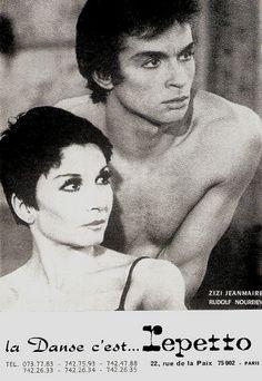 Zizi Jeanmaire, Rudolf Nureyev by Truus, Bob & Jan too!, via Flickr