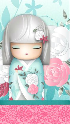 "✿ Kimmidoll ~ ""Ako"" 'Charming' ✿ #kawaii #iPhone + #Android"