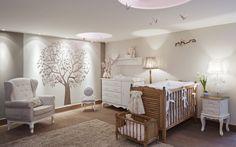 Um quarto de bebê lindinho!