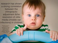 Chiropractic helps kids with ear infections