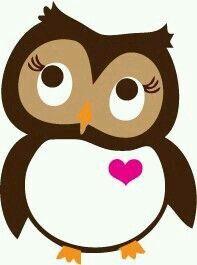 Cute little owl Owl Crafts, Diy And Crafts, Paper Crafts, Owl Patterns, Applique Patterns, Owl Applique, Owl Parties, Owl Clip Art, Owl Classroom