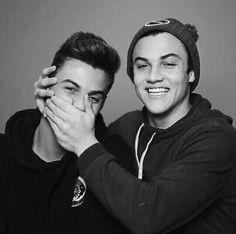 Grayson and Ethan Dolan  { Pinterest: aubreeweaver }