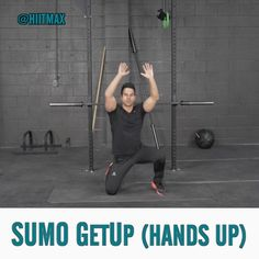"""Sumo GetUp is harder than it looks. Try it for 30sec/30sec off for 5-6min and then comment below. ⠀⠀⠀⠀ FOLLOW @morellifit for more #exercises and…"""