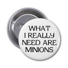 What Minions Pin