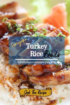 Quick Ground Turkey Recipes, Healthy Turkey Recipes, Turkey Burger Recipes, Leftover Turkey Recipes, Perfect Image, Perfect Photo, Turkey Tenderloin, Different Vegetables, How To Cook Rice