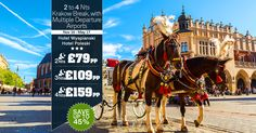 2 to 4 Nts Krakow Break, with Multiple Departure Airports.  |    📱 WhatsApp us: 0786 002 6636  |   ☎ Call us on: 0203 515 9024  |   💻 Visit us: https://www.tourcenter.uk/promotions/tour-center/tctd00005?utm_source=facebook&utm_medium=landingpage&utm_term=krakow-holiday&utm_campaign=fb-krakow-holiday  |    #tourcenteruk #tours #touroffers #holiday #holidayoffers #krakow #travel #whatsapp