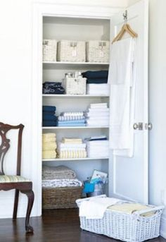 Home organisation ideas - mylusciouslife.com - linen closet.jpg   | Organized Home