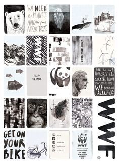 D&AD New Blood Awards- WWF Brief A1 Poster