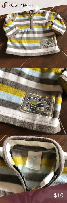 Fleece half zip jacket, 0-3 months This is a fleece half zip up jacket, size 0-3 months. Super warm! By small wonders. small wonders Shirts & Tops Sweatshirts & Hoodies