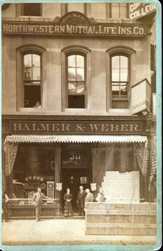 Balmer and Weber Music Company, 311 N. Fifth Street (Broadway). (1879) Missouri History Museum