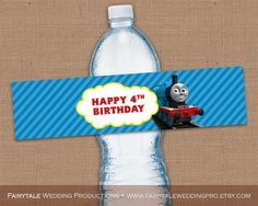Personalized Thomas & Friends Happy by FairytaleWeddingPro on Etsy