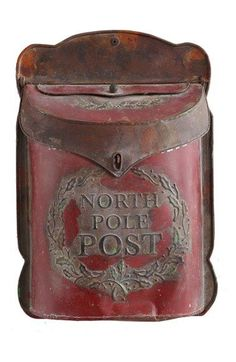 "Free shipping and returns on Creative Co-Op 'North Pole Post' Box at <a href=""http://Nordstrom.com"" rel=""nofollow"" target=""_blank"">Nordstrom.com</a>. Add a fanciful touch to your Christmas display with a weathered tin box that's ready to receive letters for Santa."
