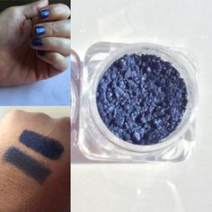 Gorgeous Royal Blue Pigment that you can use for eyeshadow and nail polish!