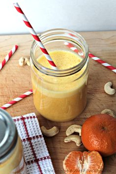 Rise and Shine Creamy Clementine Smoothie - a healthy dose of Vitamin C to keep your immune system strong!