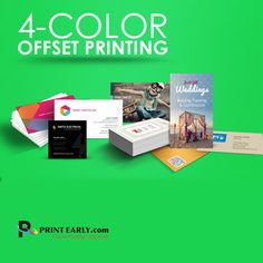 Highest quality #offset #fullcolorprinting from #printearly. The best solution for your every printing need!  http://www.printearly.com/ #NYC