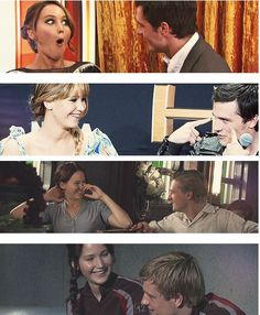 joshifer stare part 2...i just love the way they look at each other...