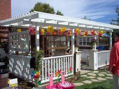 love this back porch idea
