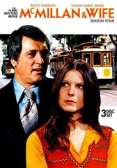 McMillan and Wife - Rock Hudson and Susan Saint James - casal Mcmillan Beatles, Mejores Series Tv, Nostalgia, Rock Hudson, Baby Boomer, Old Shows, 80 Tv Shows, Vintage Tv, Vintage Wife