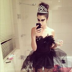 Omg Black Swan costume! Sooo want to be this