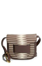 Tory Burch 'Crescent - Small' Leather Crossbody Bag