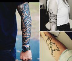 Visible ou dissimulé selon la saison, le tatouage avant bras et bras complet est parmi les options les plus préférées et par les hommes et par les femmes ...