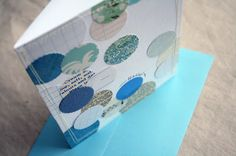 Super easy DIY cards using bits and scraps of decorative papers