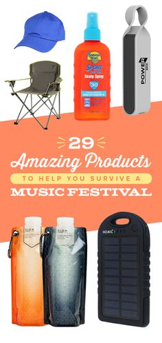 29 Useful AF Products To Help You Survive A Music Festival