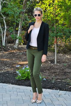 Olive Office Wear | The Chic Burrow