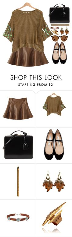 """Saturday morning"" by simona-altobelli ❤ liked on Polyvore featuring Mark Cross, Acne Studios, NYX, Ray-Ban and vintage"