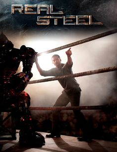 Imagine the WWE mixing with Transformers or perhaps Rocky mashed together with Rock em' Sock em' Robots. Either way, you have a creative and extremely fun movie in the new action-fighting film, Real Steel.