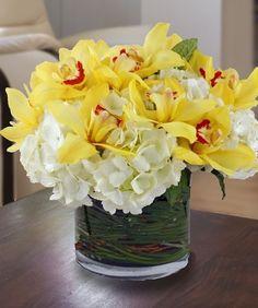 Hydrangea & Orchids