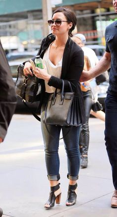 Demi Lovato out in New York - May 26th