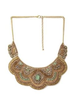 Bejeweled Bib Necklace | FOREVER21 by sherrie