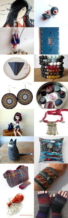 Geisha Warrier ~ Spring 2015 ~ Gift Ideas! by Kathy Carroll on Etsy--Pinned with TreasuryPin.com Help me promote these awesome artists by  Clicking the link to give them views! Thanks!