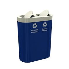 If you currently do not own a set of recycle bins, now is the right time to do such thing. These three batches of recycle bins are equally competent and durable. They are made of galvanized sheet metal. Their powder coating finish is phenomenal. The 639a model could carry as much as 78 liters of trash; 639b could hold up to 117 liters of recyclable wastes; and 639c could contain a load of up to 156 liters. Have you already made your choice?