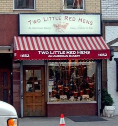 Two Little Red hens Bakery - gingerbread and Brooklyn Blackouts