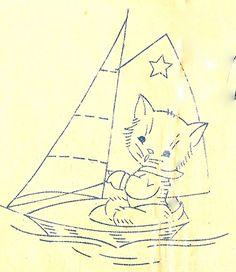 Sailing Kitty