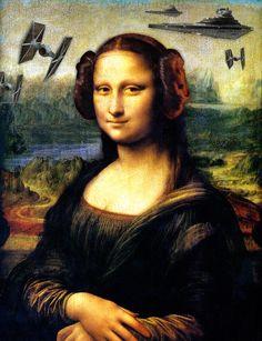 Mona Lisa versus the Empire Art Print by kamonkey   Society6