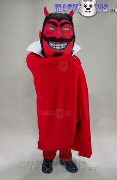 Red Devil Mascot Costume 49181 is part of our People Mascots Pirates