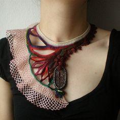 Joias de Crochê por Irregular Expressions - Crochet Jewelry by Irregular Expressions