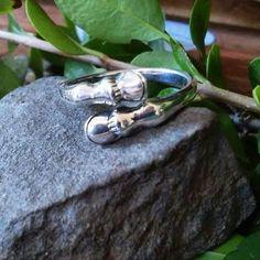 Elegant 925 Sterling Equestrian Hoof Ring https://studshack.com/products/elegant-925-sterling-equestrian-hoof-ring