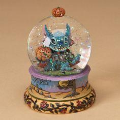Disney Stitch Halloween Water Globe Jim Shore 4023563 | eBay