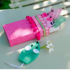 Matchbox puppet mice - fun projects for the school holidays
