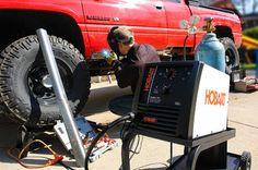 Welding aluminum with hobart handler 140 Hobart Welder, Welding Aluminum, Big Project, Monster Trucks