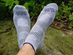 Eastern Mountain Sports Vegan Lightweight Coolmax Quarter Backpacking Socks