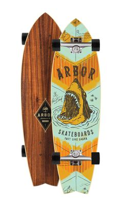 Wow, Arbor Collective makes the most amazing skateboards from sustainable materials.